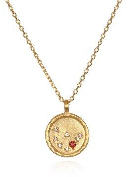 Satya Capricorn Garnet Necklace