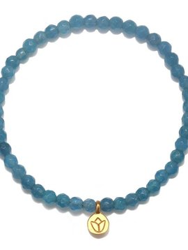 Satya Angelite Lotus Bracelet