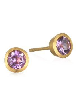 Satya Lavender Amethyst Stud Earring