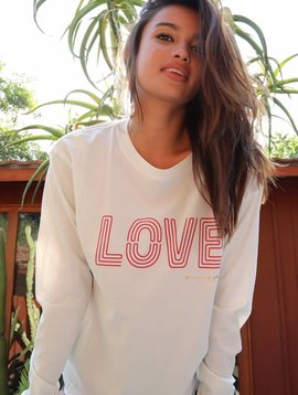 Spiritual Gangster Love Game Changer Long Sleeve Tee