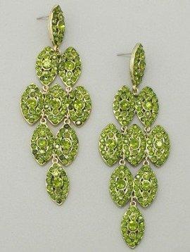 Drop Earrings Olive