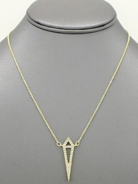 Diamond Pendant Necklace Gold