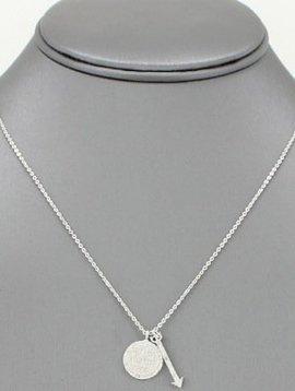Be Brave Pendant Necklace Silver