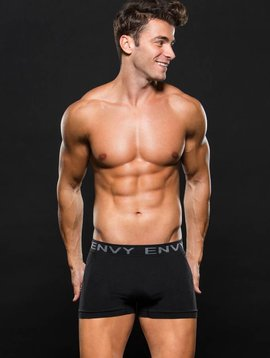 ENVY Boxer Brief Blk/Gray Stripes