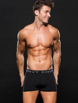 ENVY Boxer Brief Blk/Gray Stripes