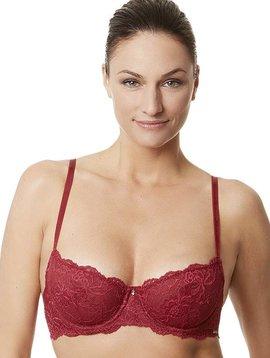 Flirt Demi Bra - Scarlet Red