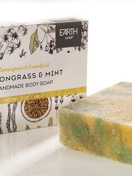 Earth Luxe Soap Lemongrass & Mint