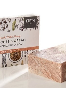 Earth Luxe Soap Peaches & Cream