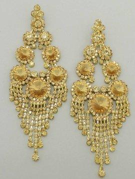 Fringe Pageant Earrings