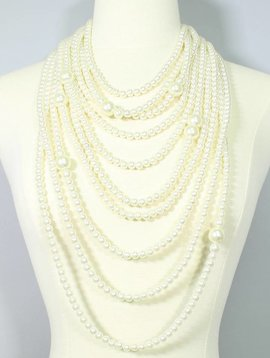 Coco Layered Pearl Necklace
