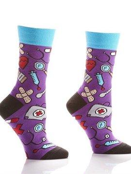 Nurse Socks Purple