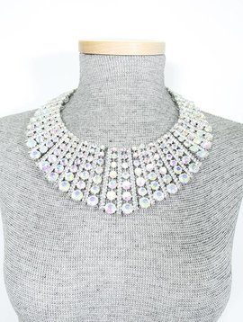 Fan Collar Necklace Set