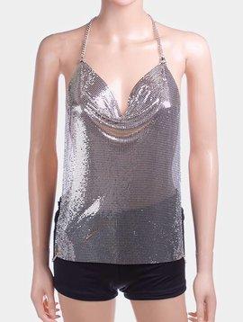 Camisole Body Jewelry Silver