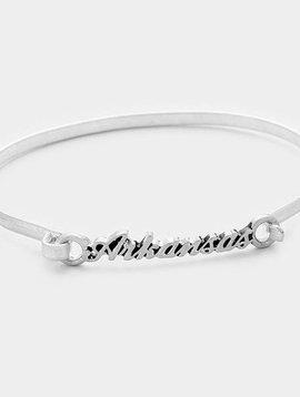 Arkansas Bracelet Silver