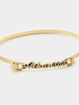 Arkansas Bracelet Gold