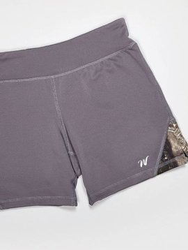 Wilderness Dreams Mossy Oak Camo Active Shorts