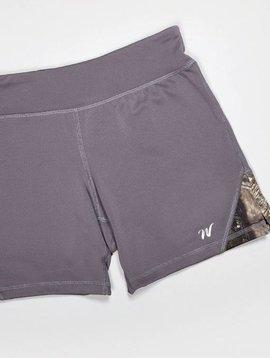 Wilderness Dreams Mossy Oak Camo Active Shorts