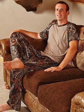 Wilderness Dreams Mossy Oak Camo Lounge Pants