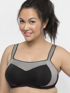 Curvy Couture Confident Fit Sports Bra