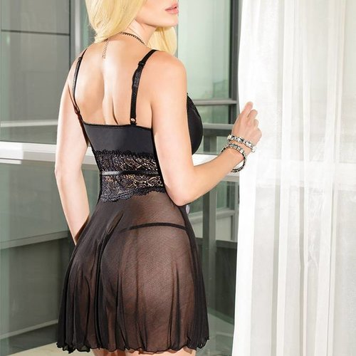 Coquette Totally Tempting Babydoll