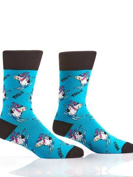 Men's Cow Skiing Socks