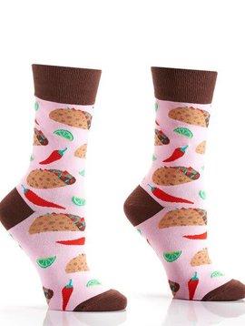 Pink Taco Socks