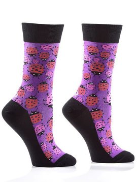 LADY BUG WOMEN'S CREW SOCK