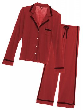 Cosabella BELLA LONG SLEEVE TOP & PANT PAJAMA SET