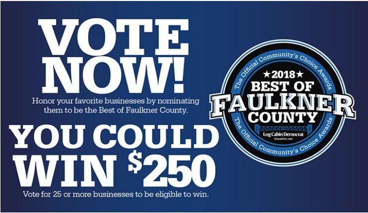 Vote for ANGIE DAVIS Best of Faulkner County!