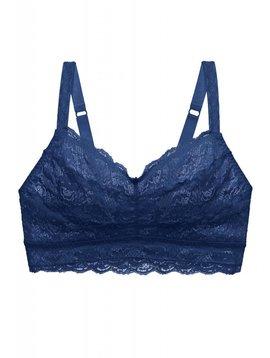 Cosabella NEVER SAY NEVER CURVY™ BRALETTE - MARINE BLUE