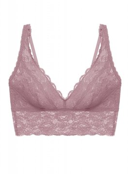 Cosabella NEVER SAY NEVER EXTENDED PLUNGIE LONGLINE BRALETTE - INCENSO