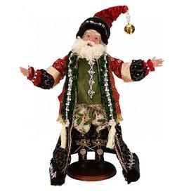 Mark Roberts Fairies Santas 51-53044 Sparkling Santa 24 inch