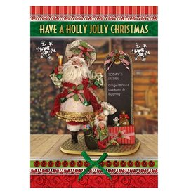 Mark Roberts Christmas Decorations Boxed Cards Santas Kitchen