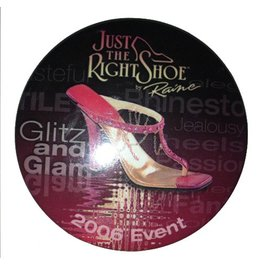 Just The Right Shoe Button JTRS-BTN Just the Right Shoe Glitz and Glam 2006 Event Button