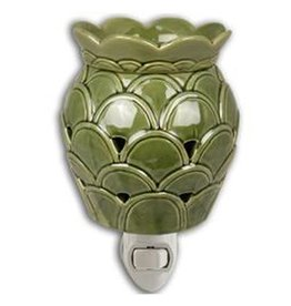 Boulevard Wax Melts Fragrance Warmer Plug-In Green Artichoke