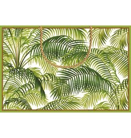 Caspari Gift Bag Tote 15x10x6 inch 8969B2.5 under The Palms