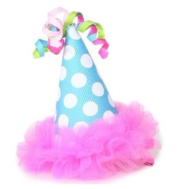 Mud Pie Chiffon Party Hat Hair Clip 176421 Mud Pie Gifts