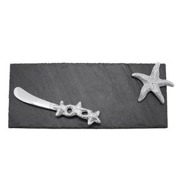 Mariposa Spreader Set 6203 Starfish Slate Board w Spreader Set