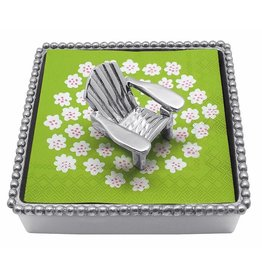 Mariposa Napkin Box Wieght Set 4016 Adirondack Chair Beaded Napkin Box