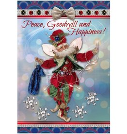 Mark Roberts Christmas Decorations Boxed Cards Christmas Lights Fairy
