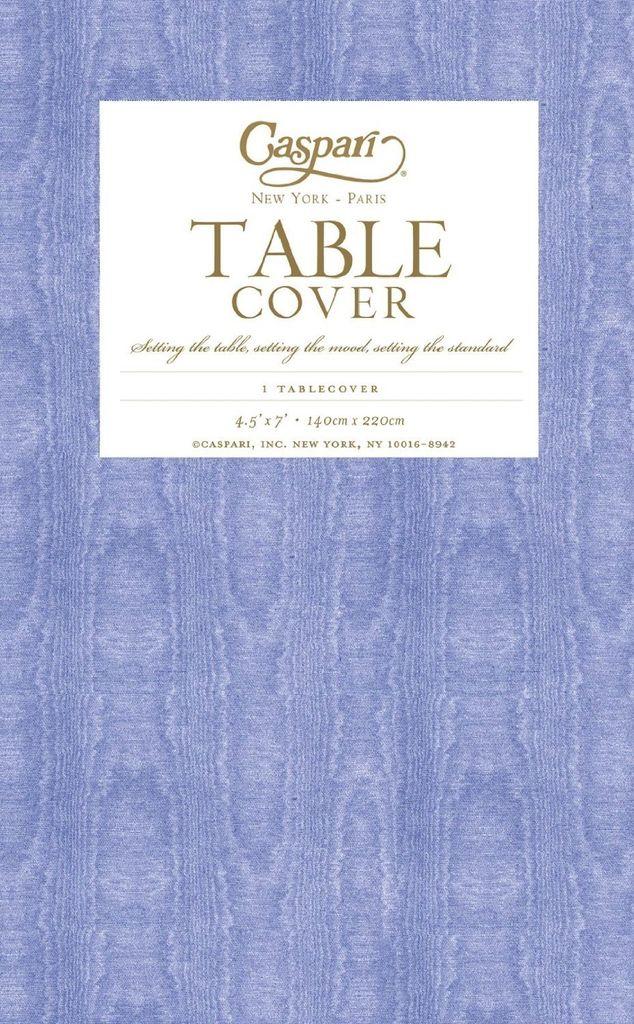 Merveilleux Caspari Caspari Table Covers Moire 9711TCP Lavender Blue Tablecover 54x84  Inch ...