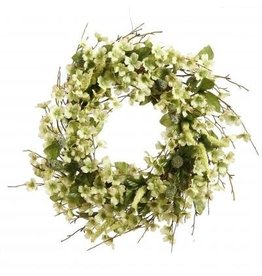 Winward Wild Dogwood Wreath-Green