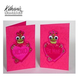 Katherine's Collection Valentine's Cards 08-79076 Valentine's Cards Set of 4