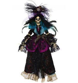 Mark Roberts Fairies Mark Roberts Halloween Skeletons 51-68168 Mrs High LIfe Skeleton 21in
