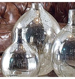 Regina Andrew Design Antique Mirror Mercury Glass Style Wine Sphere LG