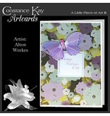 Constance Kay Art Card Butterfly Mothers Day  Card by Constance Kay