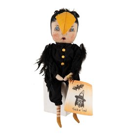 Gallerie II Joe Spencer Gathered Traditions Collection Piper Crow Girl Figurine FGS70905 Joe Spencer Halloween