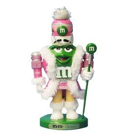 Kurt Adler M&Ms Green M&M Nutcracker Christmas Table Piece