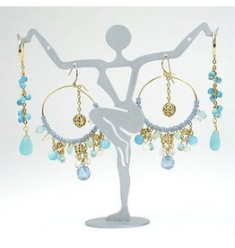 Digs Earring Display Goddess Earring Holder Stand