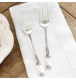 Mud Pie Wedding Cake Forks I Do Me Too 4041002 by Mud Pie Gifts